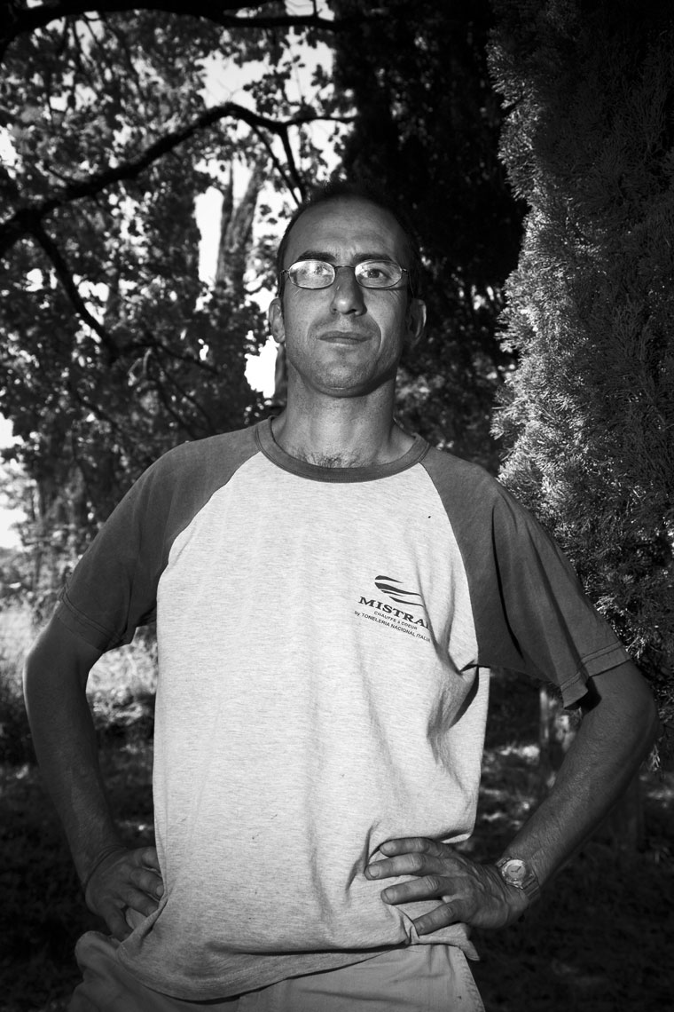 wine farmer portrait Piero Lanza